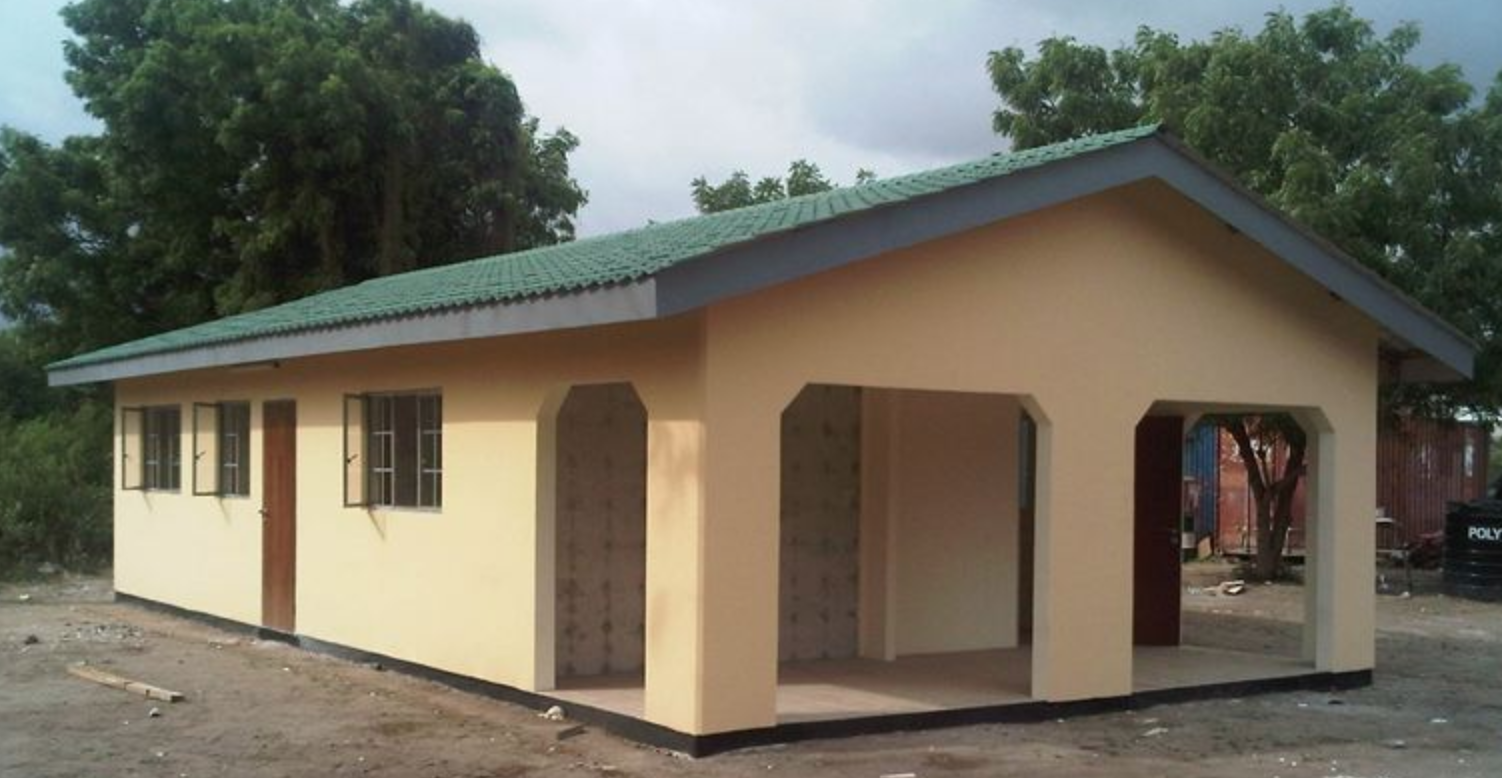 Low cost housing building system - moladi