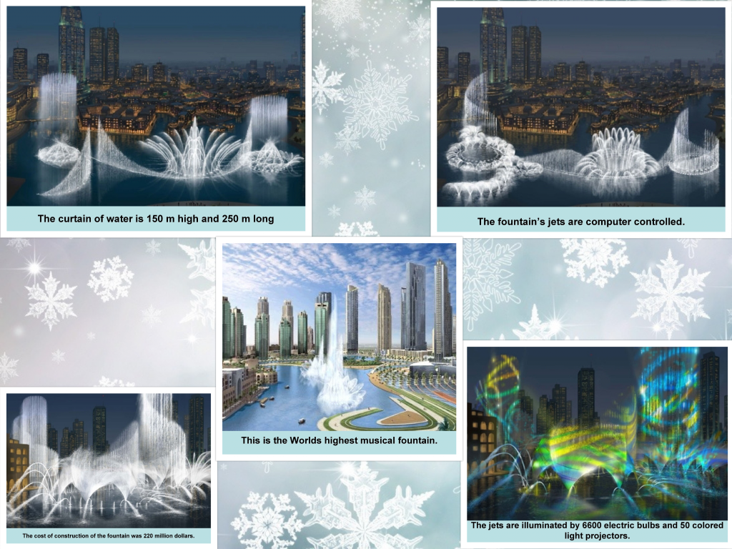 Burj Khalifa, Fountain images