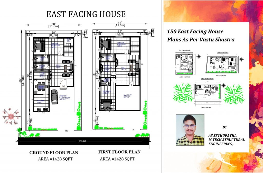 East Facing House Plans