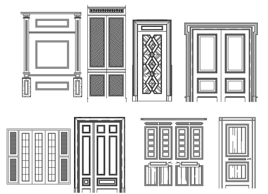 Wooden Door Blocks