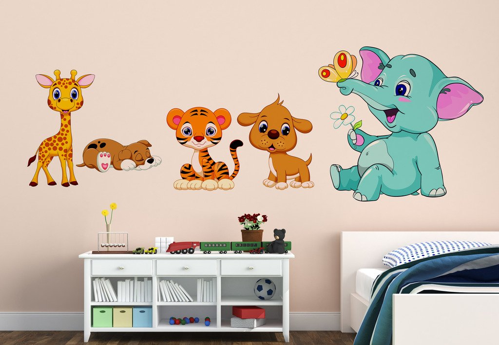 Happy Joy Animals Sticker